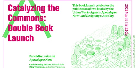 Catalyzing the Commons : Double Book Launch tickets