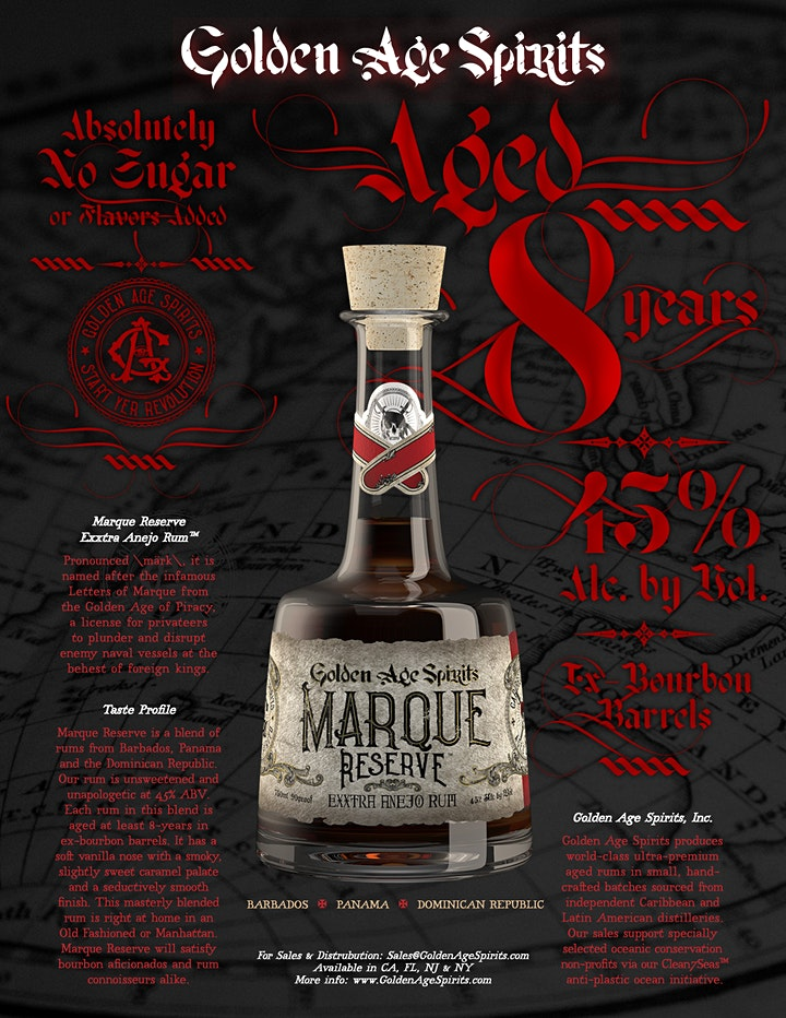 #FREEsips with Golden Age Spirits' Marque Reserve Aged Caribbean Rum image