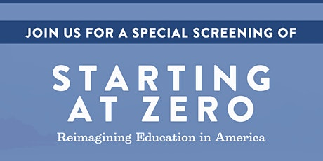 Starting at Zero: Documentary Screening and Discussion tickets