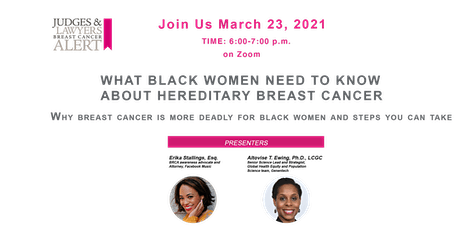 What Black Women Need To Know  about Hereditary Breast Cancer tickets