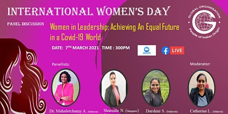 International Women's Day:  Women in Leadership: Achieving An Equal Future tickets