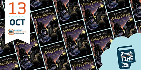 Lunchtime Lit 'Harry Potter and The Philosopher's Stone by JK Rowling' tickets