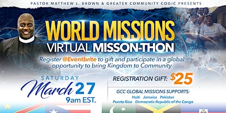 World Missions Virtual Mission-thon tickets