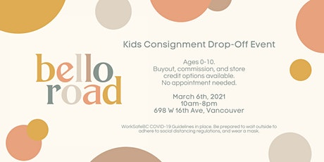 Children's Consignment Drop Off Event tickets