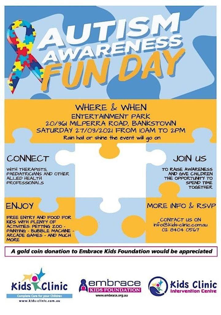 Autism Awareness Fun Day image