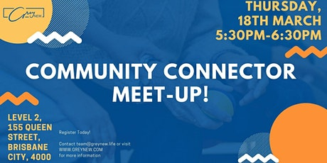 Join our Community Connector Weekly Meeting tickets