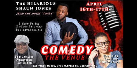 Qc Comedy at The Venue tickets