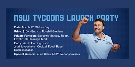 NSW Tycoons Launch - Owner Event tickets