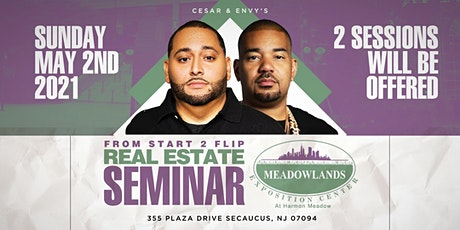 Cesar & DJ Envy's Real Estate Seminar [NY/NJ] tickets
