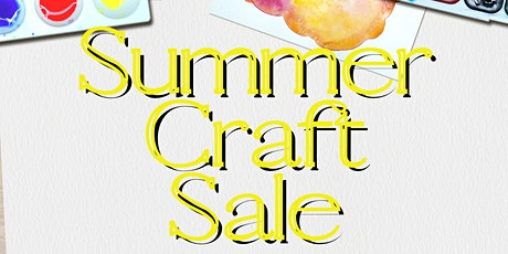Summer Craft Sale tickets