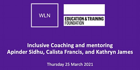 Inclusive coaching and mentoring tickets