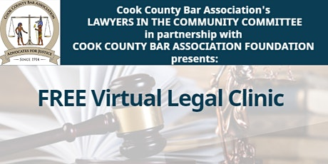 Cook County Bar Association's Legal Clinic tickets
