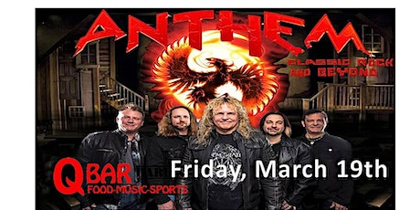 ANTHEM CHICAGO - The Classic Rock & Beyond Experience! tickets