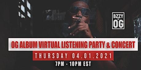 OG Album Virtual Listening Party & Concert tickets