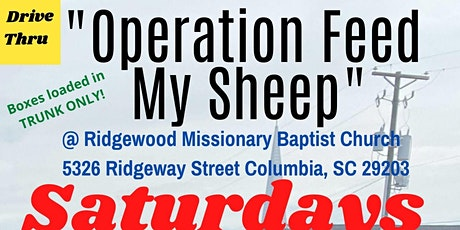 Volunteer SIGN-UP 'Operation Feed My Sheep' Saturday March 27, 2021! tickets