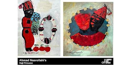 Opening Invitation | Ahmad Nasrollahi's Haji Firouzes tickets