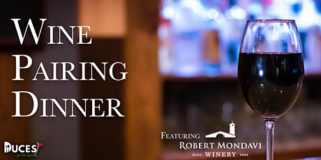 Robert Mondavi Wine Dinner tickets