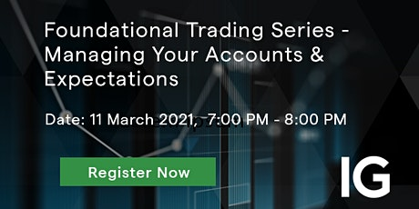 Foundational Trading Series - Managing Your Accounts & Expectations tickets