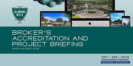 Broker's Accreditation and Project Briefing tickets