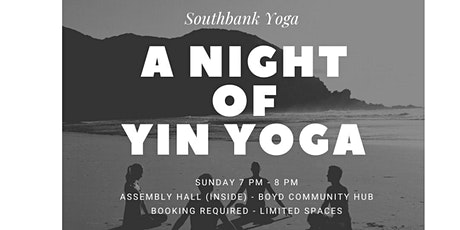 A Night of Yin Yoga tickets