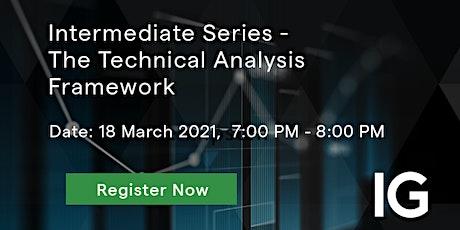 Intermediate Series - The Technical Analysis Framework tickets