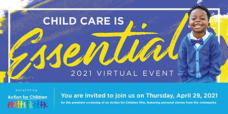 Child Care is Essential 2021 Virtual Fundraiser tickets