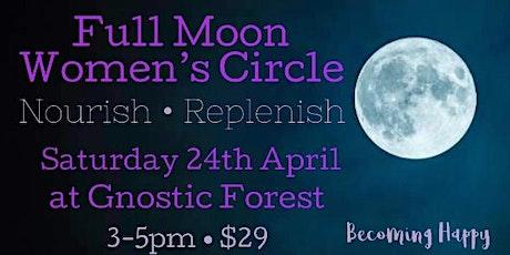 Full Moon in Scorpio Women's Circle - Saturday 24th April tickets