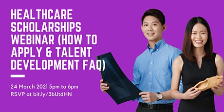 Healthcare Scholarships Webinar (How to apply and talent development FAQ) tickets