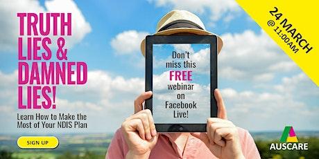 Auscare Support Webinar: Plan Management - The Truth, Lies & Damned Lies! tickets