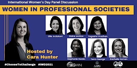 Women in Professional Societies tickets