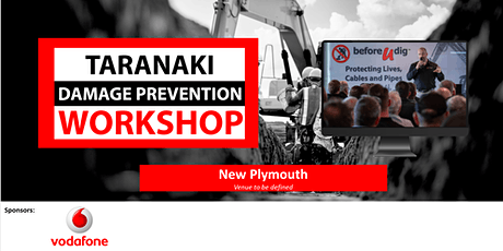 Taranaki Damage Prevention Workshop 2021| Free tickets available tickets