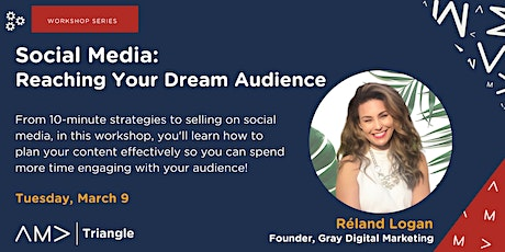 Social Media:  Reaching Your Dream Audience tickets
