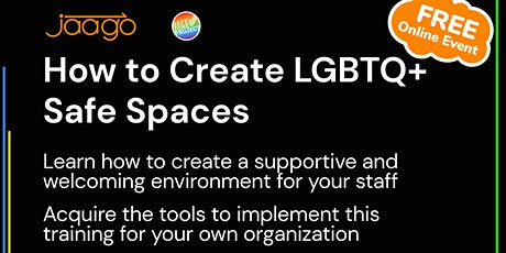 How to create LGBTQ+ Safe Spaces tickets