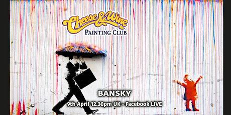 Paint BANKSY - 'Rainbow Rain Girl' - Facebook LIVE tickets