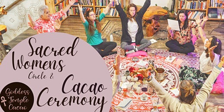 Sacred Women's Circle and Cacao Ceremony: Tor Central Branch tickets