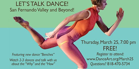 Let's Talk Dance - SF Valley and Beyond tickets