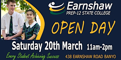 Open  Day at Earnshaw State College tickets