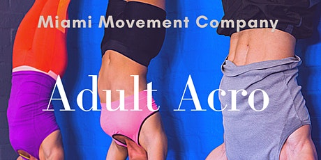 Adult Acro tickets