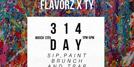 Sip paint brunch & Trap tickets