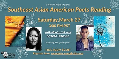 Southeast Asian American Poetry Reading with Monica Sok & Krysada Phounsiri tickets