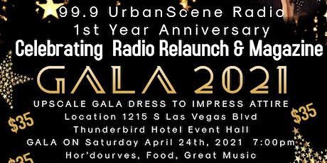 99.9 UrbanScene 2021 Anniversary Gala tickets