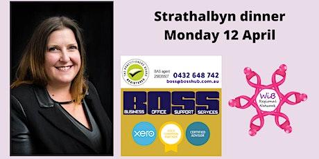 Strathalbyn dinner - Women in Business Regional Network -  Monday 12/4/2021 tickets
