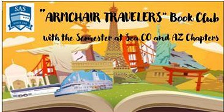 """SAS Armchair Travelers Book Club Explores """"The Geography of Bliss""""! tickets"""