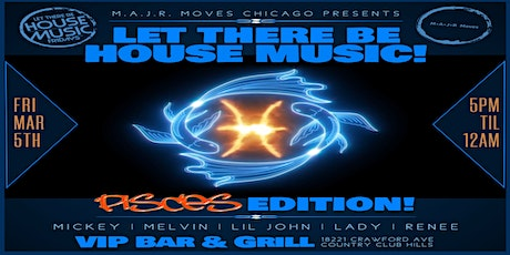 House Music 1st Fridays at VIP Bar and Grill! tickets