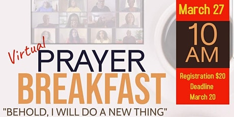 Tyler District  Prayer Breakfast (Virtual) tickets