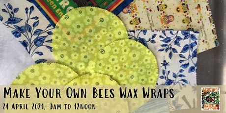 Make your own Bees Wax Wraps tickets