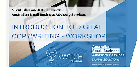 INTRODUCTION TO DIGITAL COPYWRITING - WORKSHOP tickets