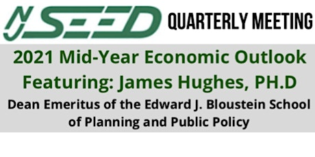 2021 Mid-Year Economic Outlook, featuring: Dr. James Hughes tickets