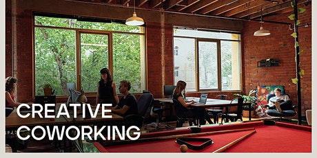 Tuesday Creative Hustle - FREE COWORKING tickets