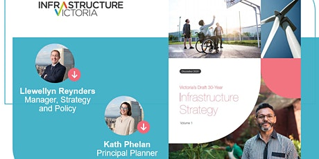 Release of Victoria's Draft 30-Year Infrastructure Strategy Event tickets